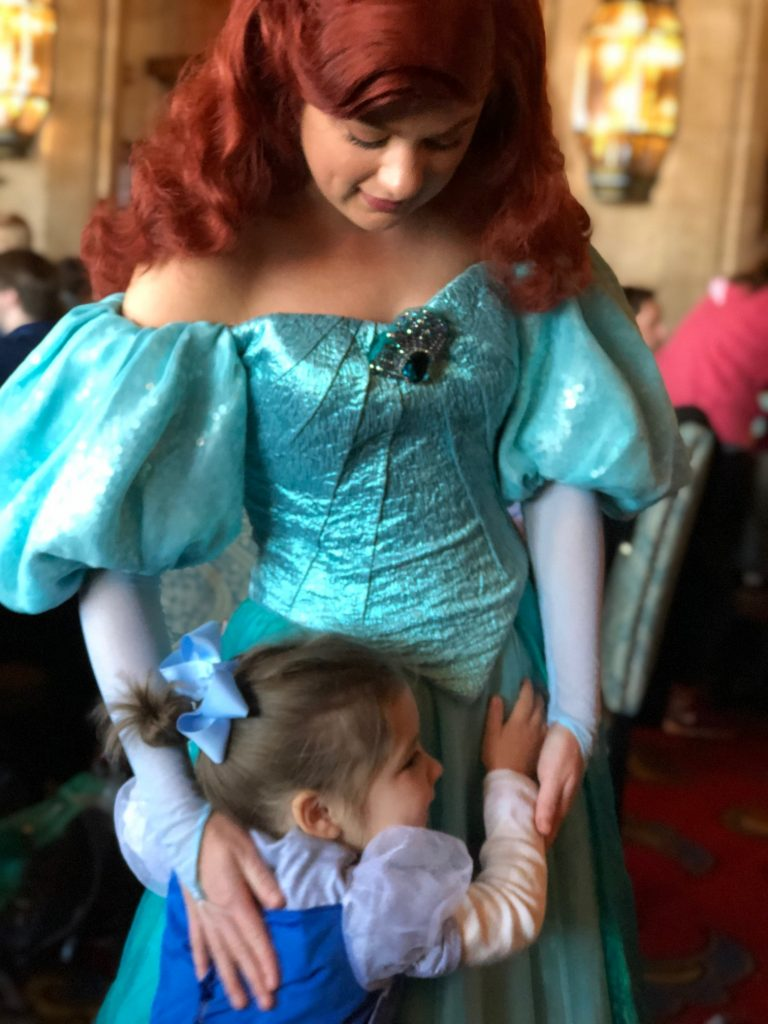Ariel at Cinderella's Royal Table