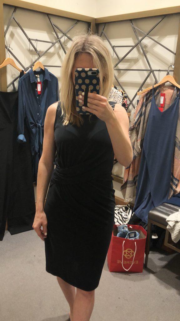 sophia tucked dress by allison joy