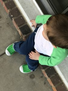 toddler native jefferson shoe in green