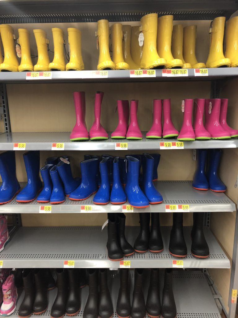 walmart toddler rain boots | The Best Walmart Purchases: 20 Things you Won't Believe are from Walmart featured by top Missouri fashion blogger, Emmy Lou Styles