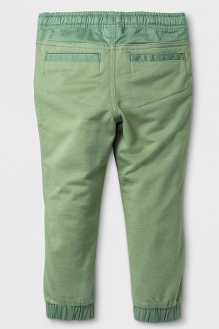 toddler boy jogger style dress pant