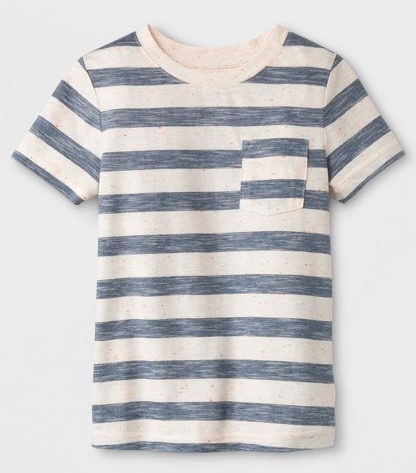 toddler boy cat and jack striped t-shirt