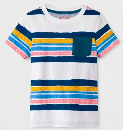toddler boy cat and jack pocket t-shirt