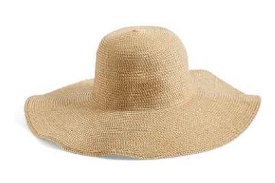 nordstrom bp. straw hat