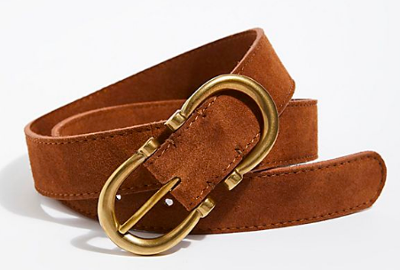 free people suede infinity belt