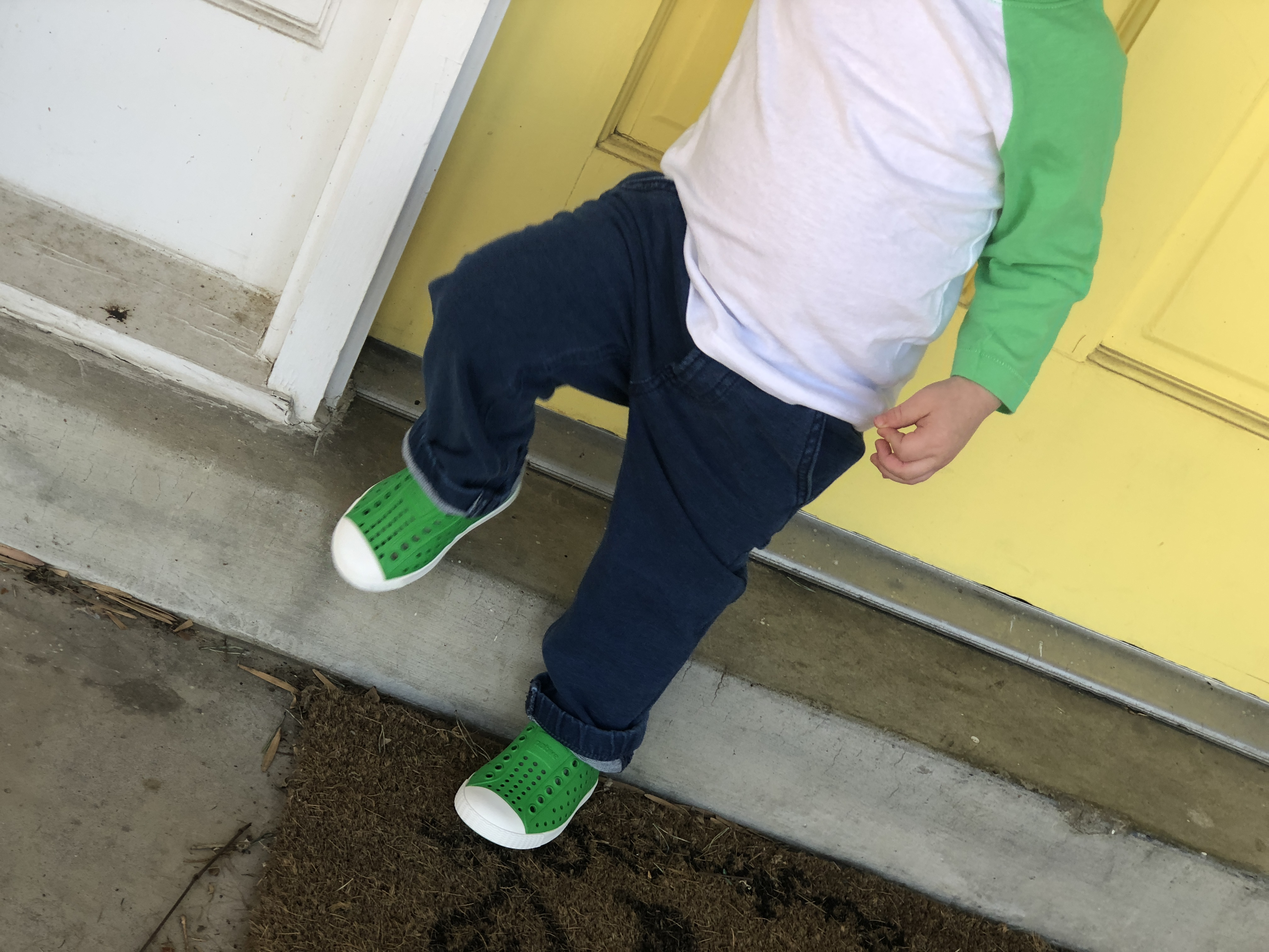 toddler boy elastic waistband jeans