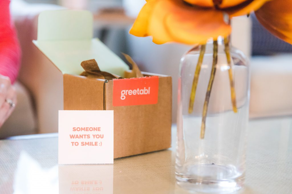 the personalized gift company called greetabl | personalized gift box: greetabl review featured by top Missouri life and style blogger, Emmy Lou Styles