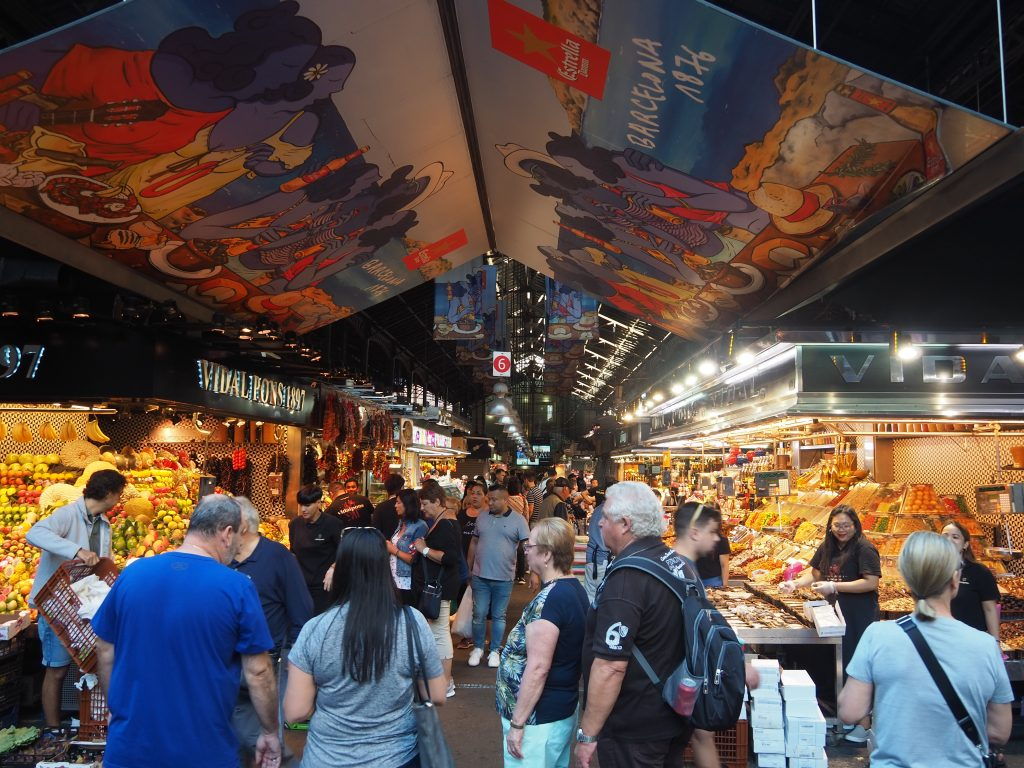 Explore La Boqueria Food Market in Barcelona