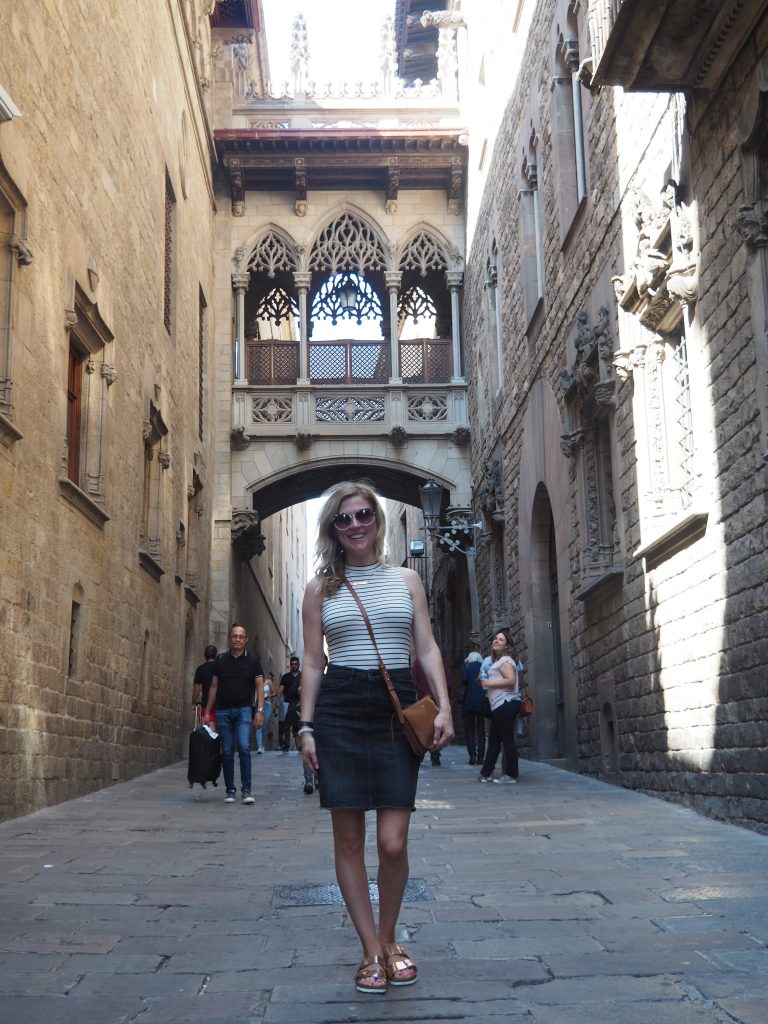 The Gothic Quarter in Barcelona is a must see.