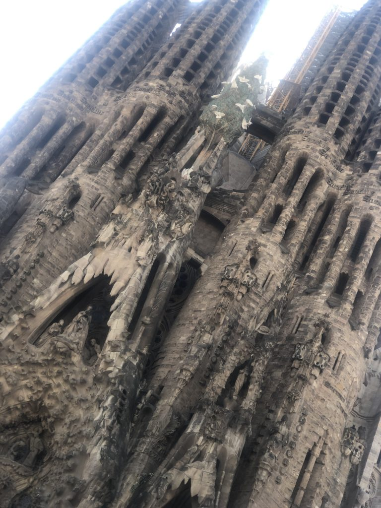 Tour the Sagrada Famila when visiting Barcelona