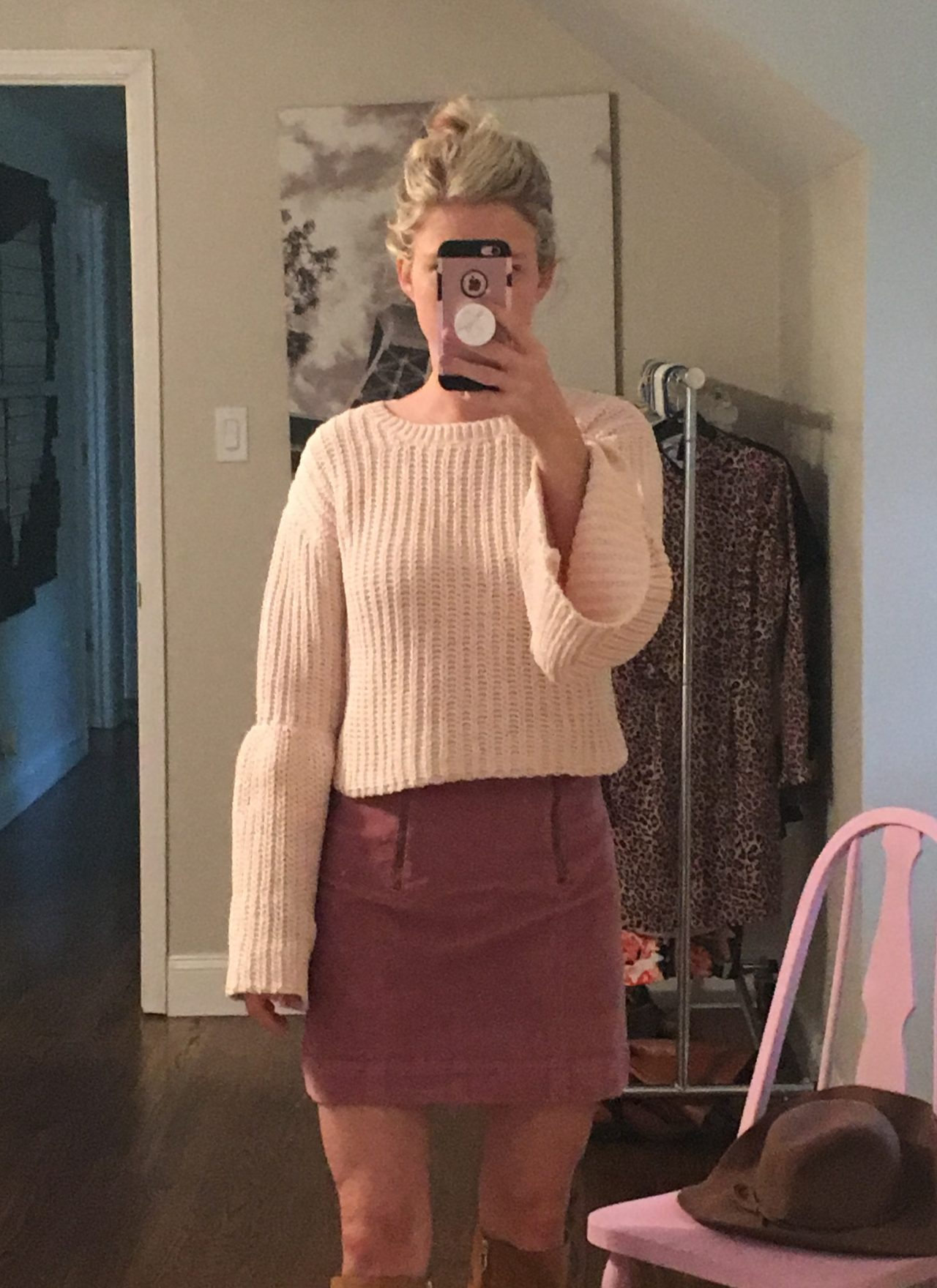 Forever 21 Trumpet Sleeve Sweater