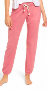 Women's Pajama Gift Ideas featured by top US fashion blogger, Emmy Lou Styles: image of sleep joggers available at Nordstrom