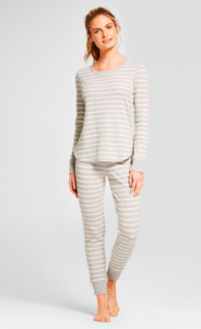 Women's Pajama Gift Ideas featured by top US fashion blogger, Emmy Lou Styles: image of Gilligan o Malley pajama set