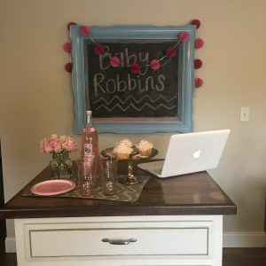 3 Simple Steps to Host a Virtual Baby Shower featured by top US lifestyle blogger, Emmy Lou Styles: virtual baby shower party decorations
