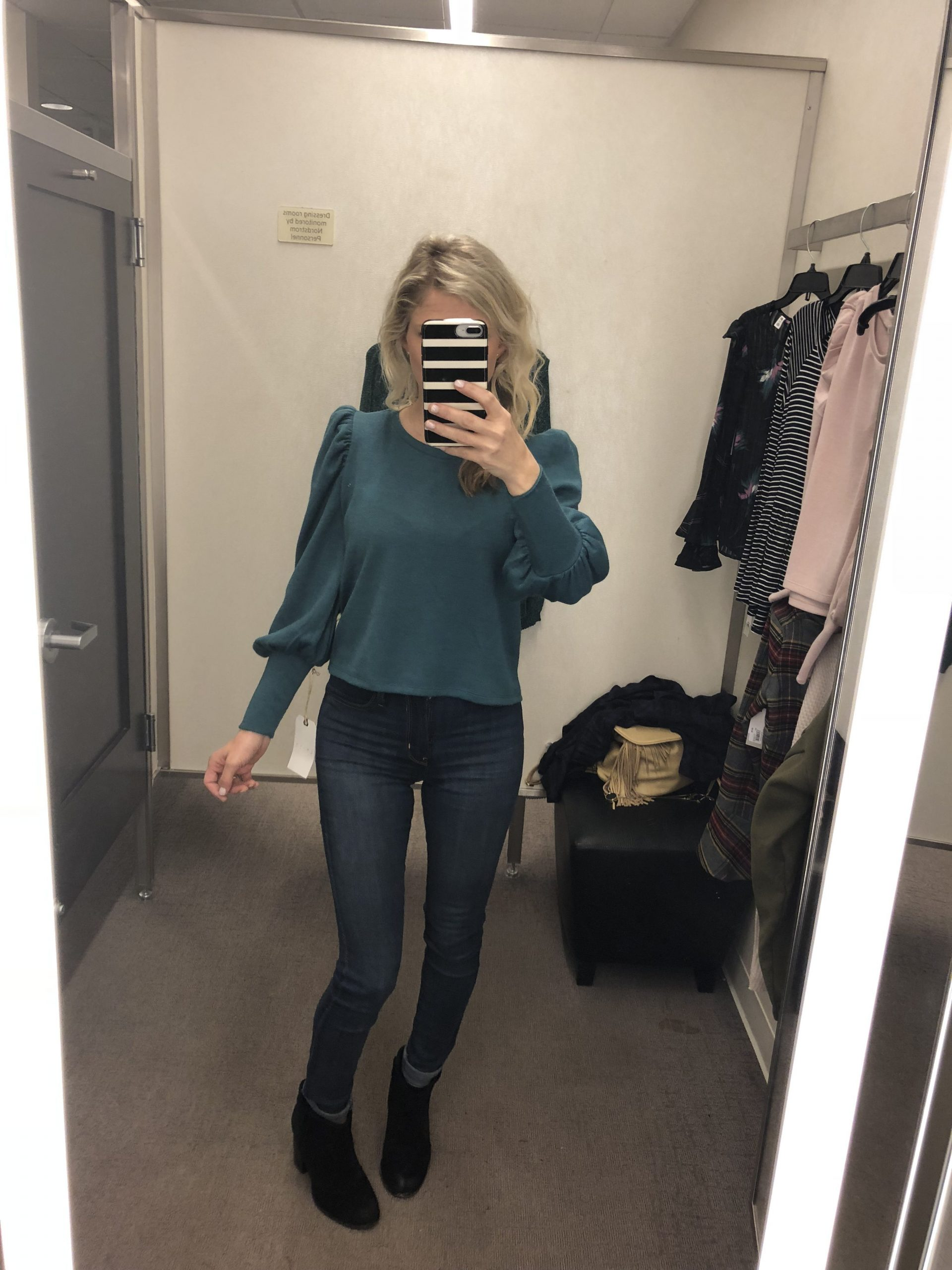 Bloused Sweater