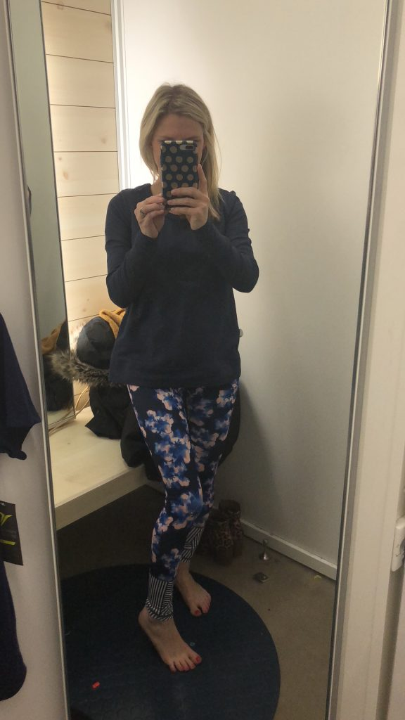 old navy try on session