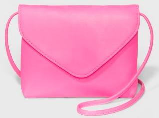 pink crossbody purse