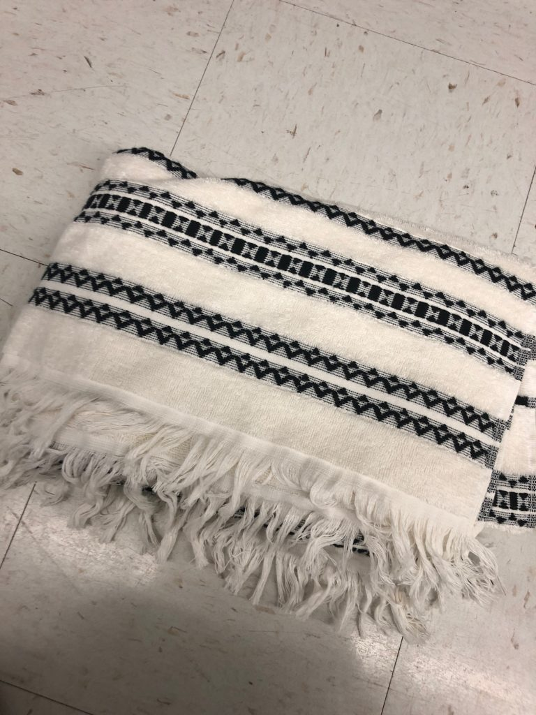 better homes and gardens tribal chic bath towels | The Best Walmart Purchases: 20 Things you Won't Believe are from Walmart featured by top Missouri fashion blogger, Emmy Lou Styles