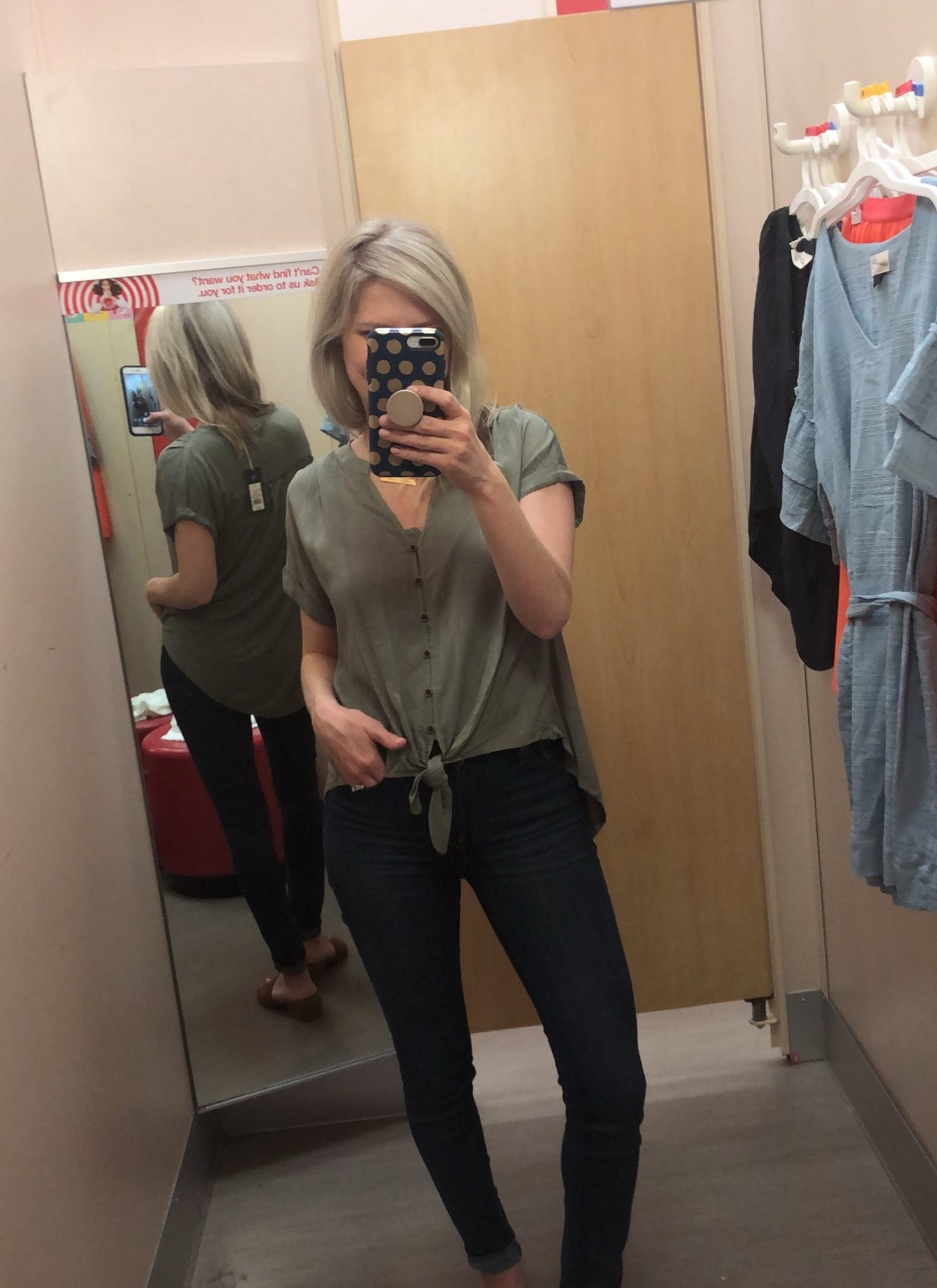 Target Try On Session