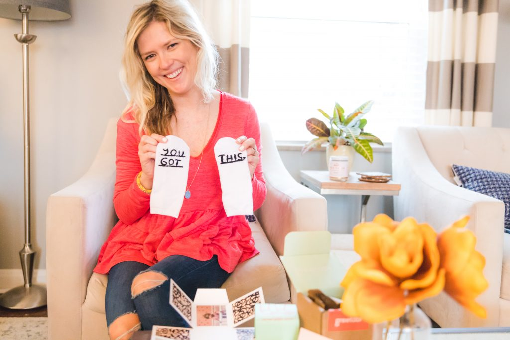 greetabl you got this socks | personalized gift box: greetabl review featured by top Missouri life and style blogger, Emmy Lou Styles