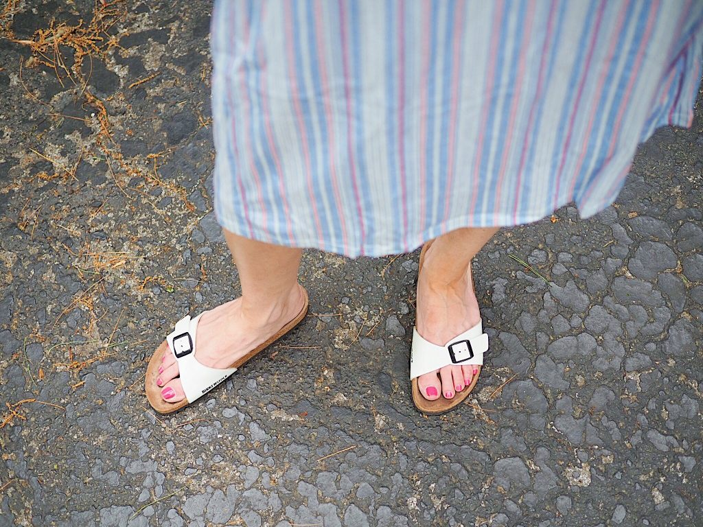 white madrid birkenstocks