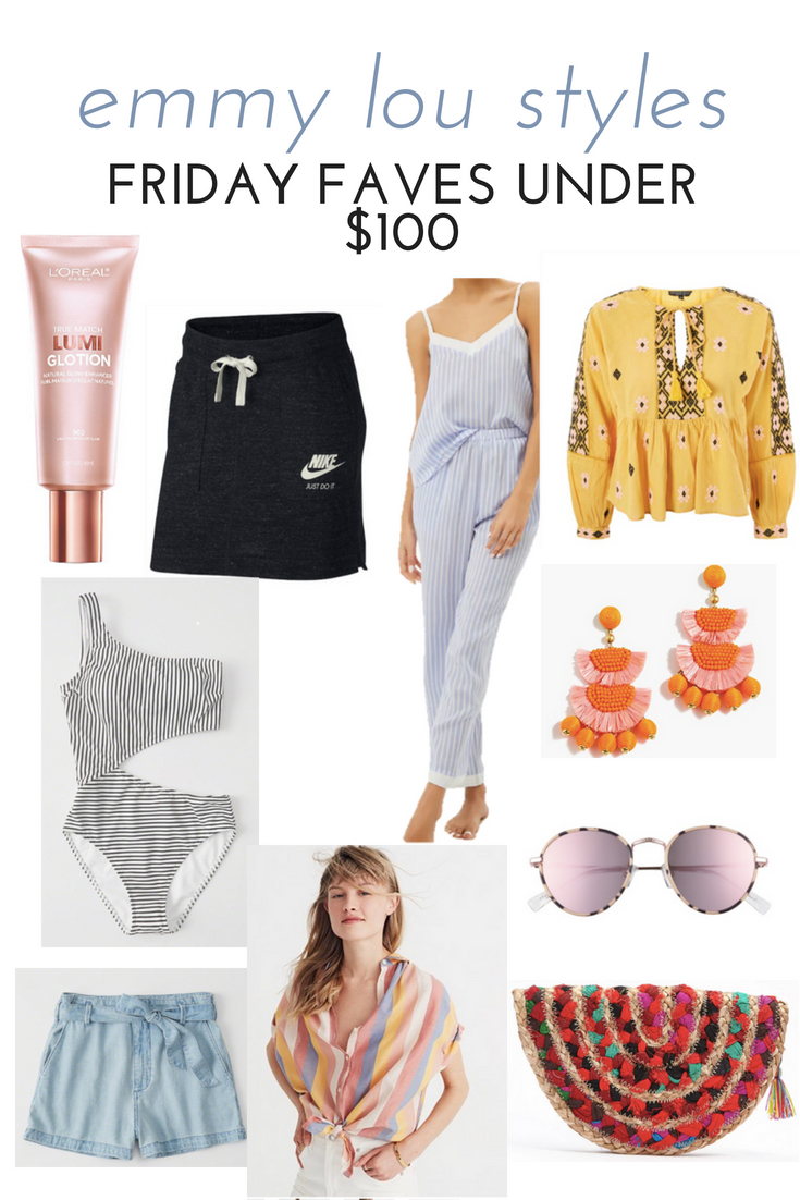 SUMMER FRIDAY FAVES UNDER $100
