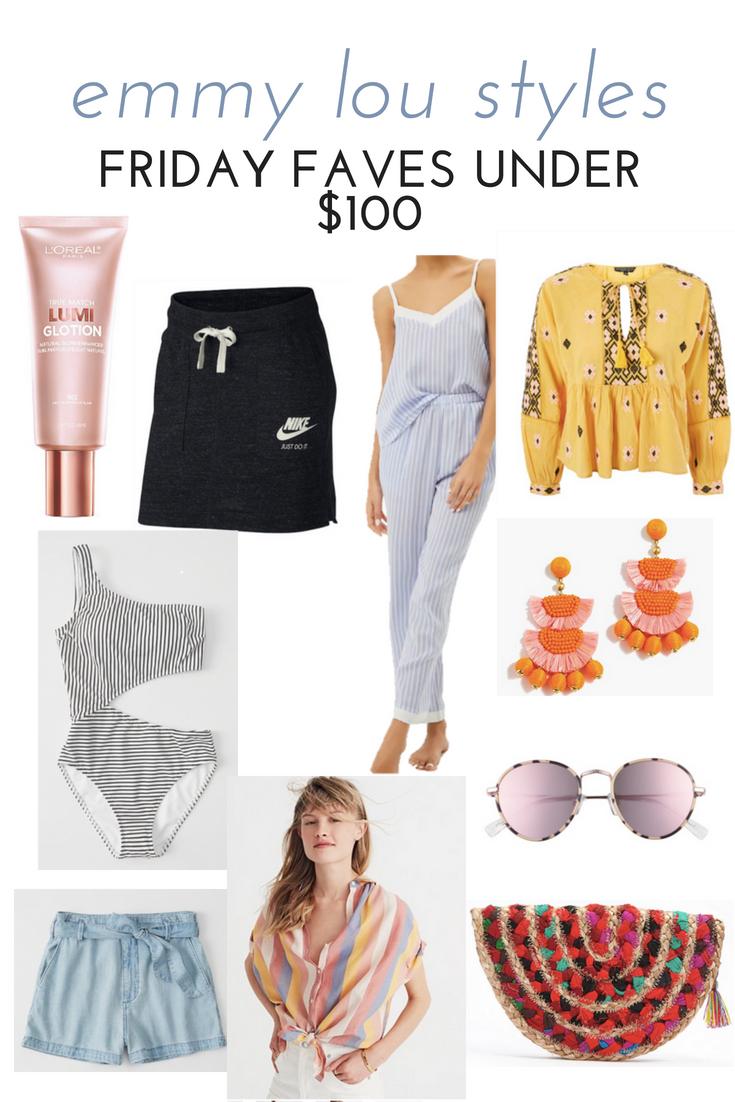 SUMMER FRIDAY FAVES UNDER $100