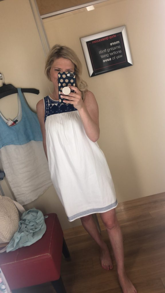 tj maxx dresses | HOW TO SHOP AT TJ MAXX LIKE A CHAMP featured by top US fashion blogger, Emmy Lou Styles