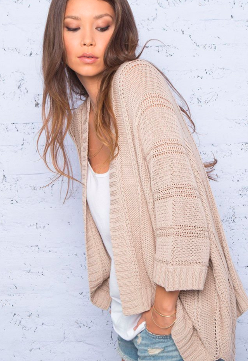 cute oversized knit sweaters  | Wooden Ships oversized knit sweaters featured by top US fashion blogger, Emmy Lou Styles