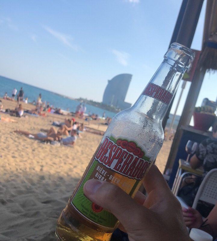 best beach in barcelona