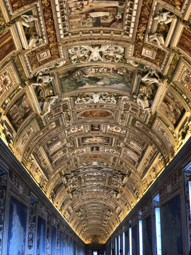 The Gallery of Maps at the Vatican in Rome