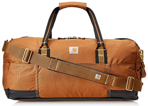Emily from Emmy Lou Styles shares her gift guide for the guy in your life featuring this Carhartt Legacy Gear Bag