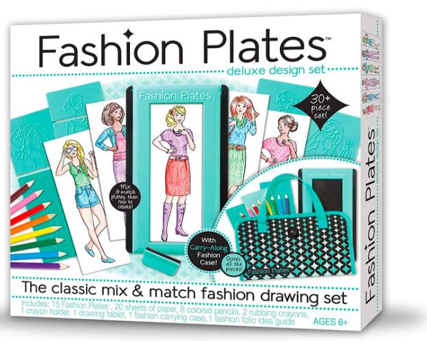 Kahootz Fashion Plates Deluxe