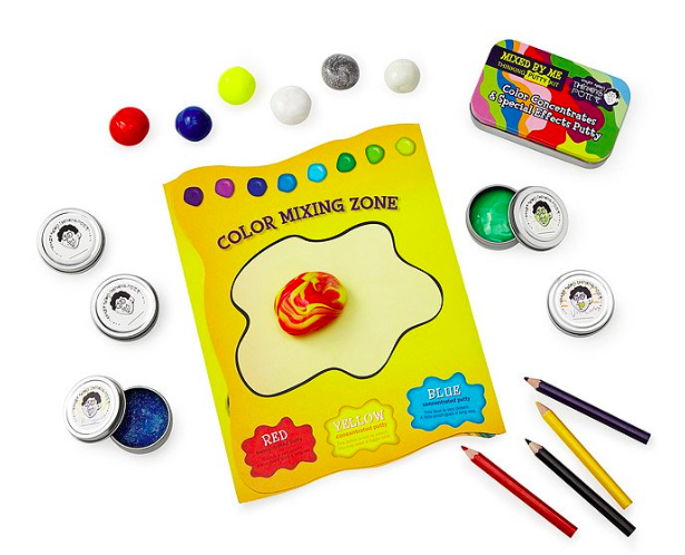 Emily from Emmy Lou Styles shares her top unique gifts for kids which includes this DIY slime kit for kids.
