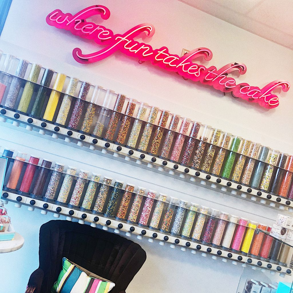 Sweetology in Town and Country, Missouri is a great place to hold a 5th birthday party.