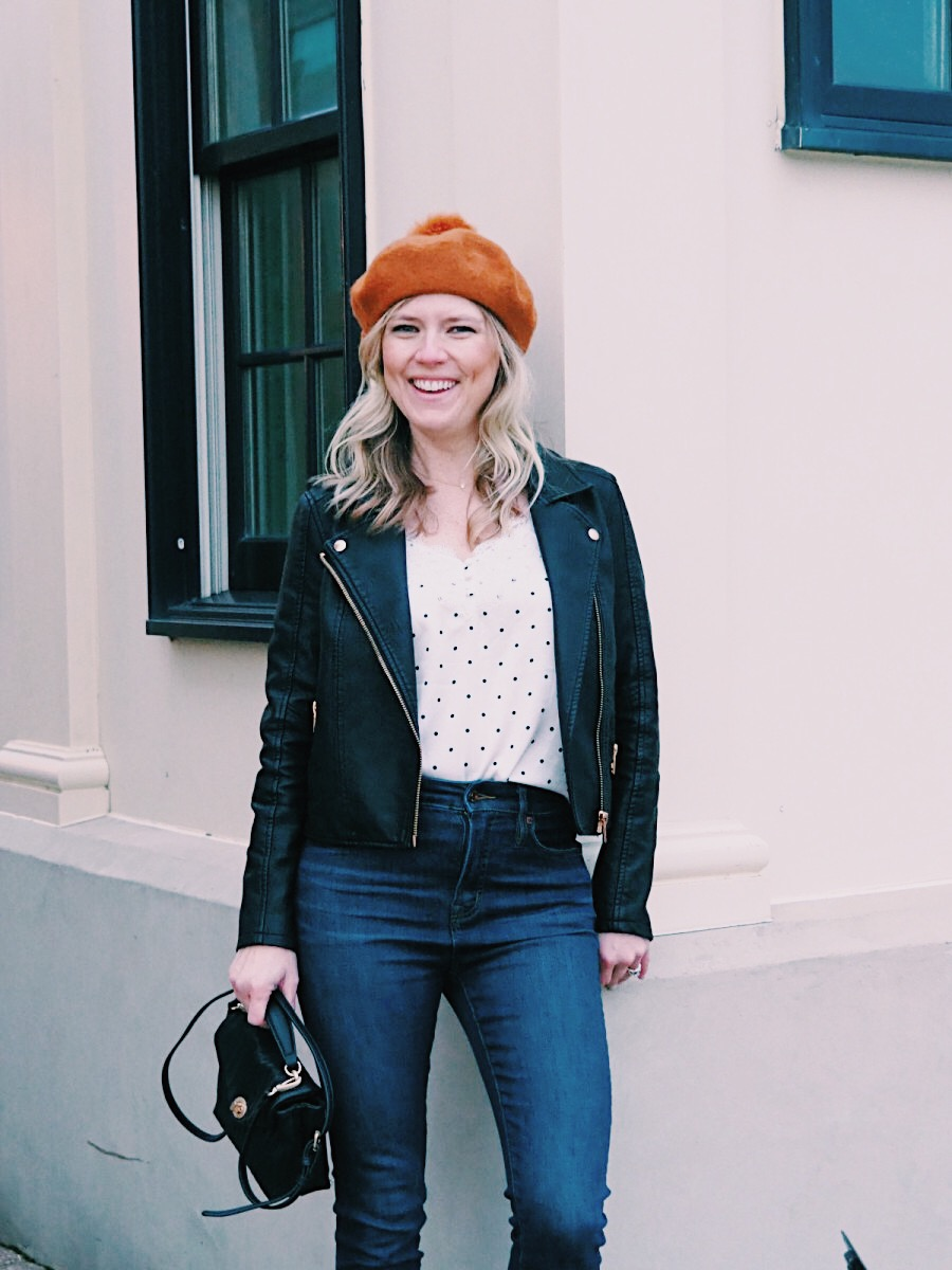 A MADEWELL BERET AND HOW TO WEAR IT