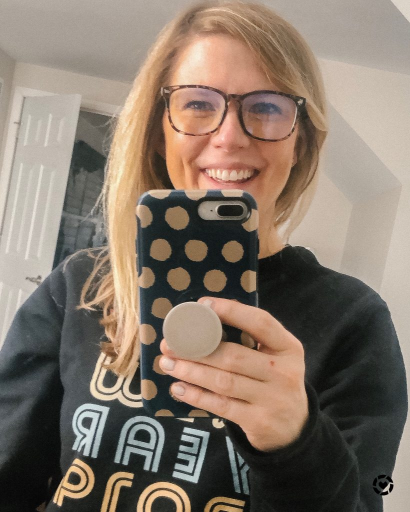 Top 9 Current Amazon Favorites by top US fashion blogger, Emmy Lou Styles: image of Bluelight Glasses from Amazon for $20