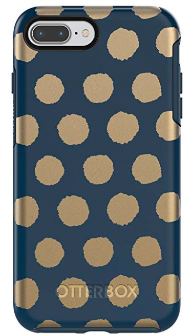 "Top 9 Current Amazon Favorites by top US fashion blogger, Emmy Lou Styles"" image of Otterbox Phone Case with polka dots on Amazon"