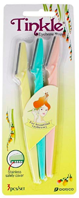 Top 9 Current Amazon Favorites by top US fashion blogger, Emmy Lou Styles: image of Tinkle Facial Razors from Amazon