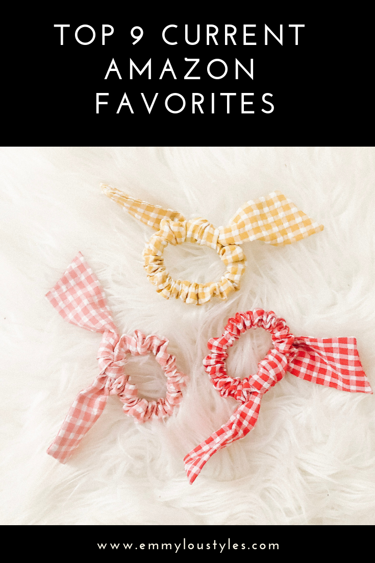 Top 9 Current Amazon Favorites by top US fashion blogger, Emmy Lou Styles