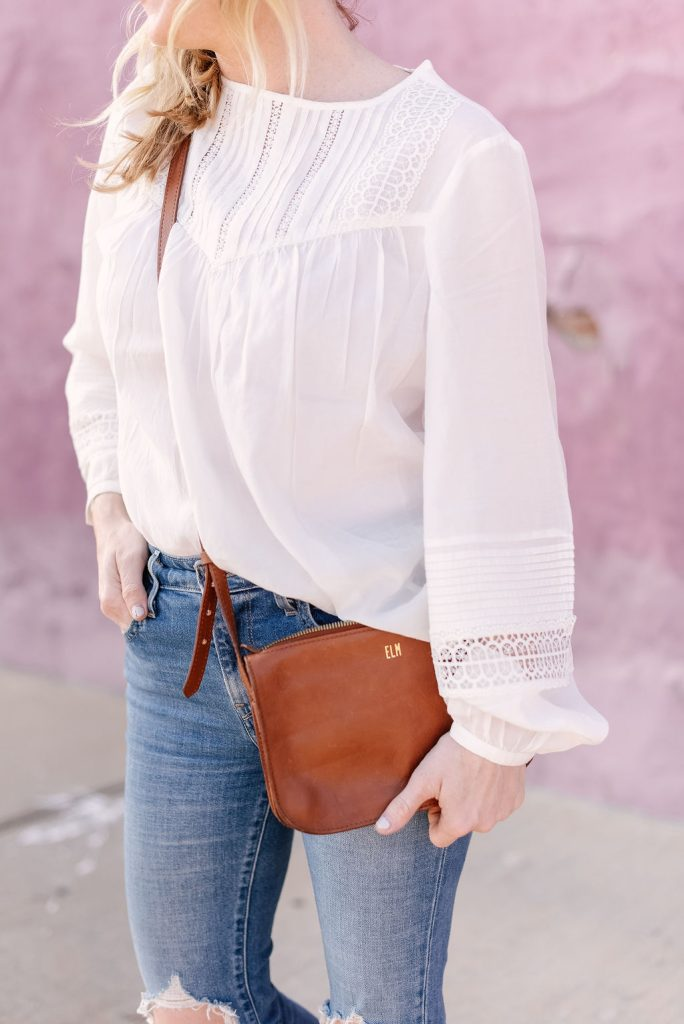 Emily from Emmy Lou Styles shares how she styles a crisp white blouse.