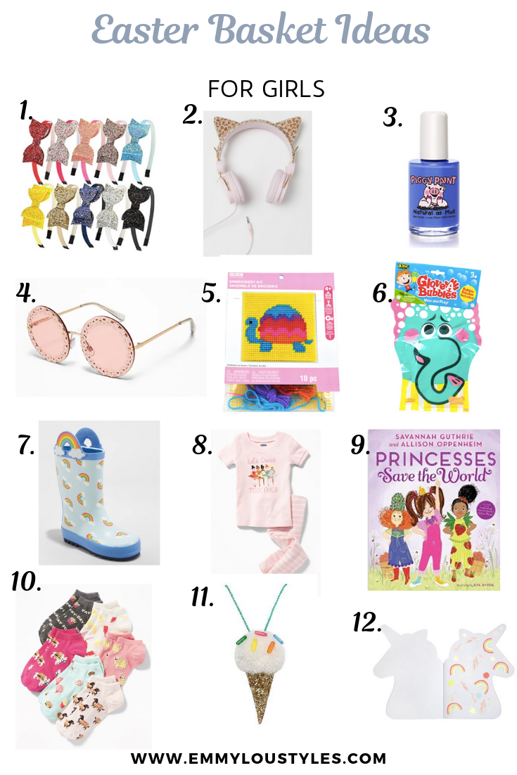 Easter Basket Ideas for Girls and Boys