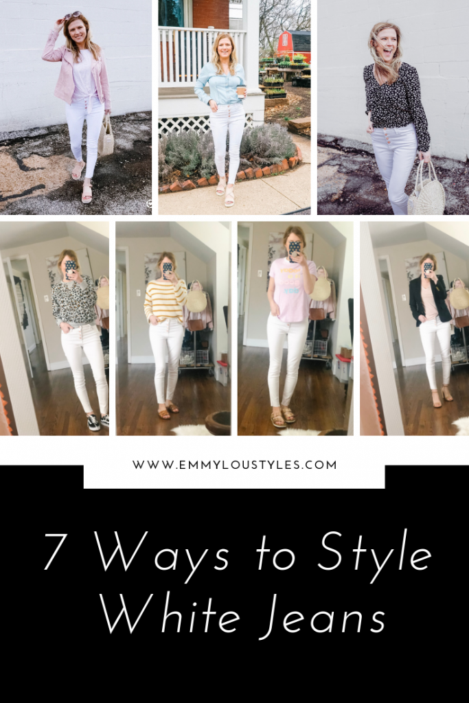 7 Ways to Style White Jeans
