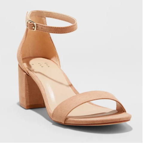 Target A New Day neutral block heel