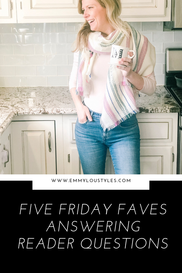 Five Friday Faves – Readers Choice