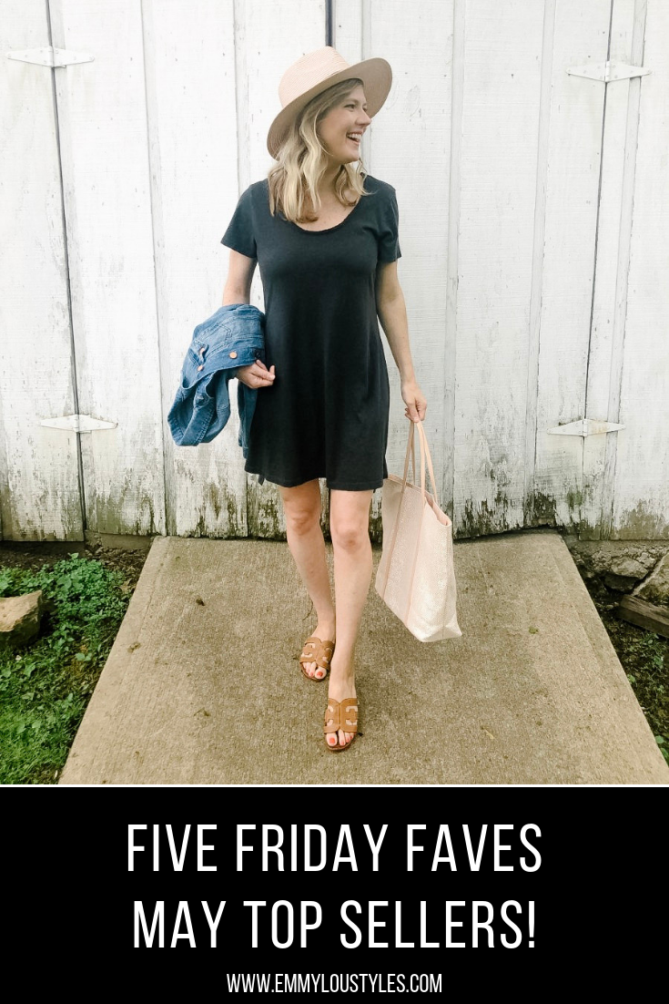 Five Friday Favorites - May Top Sellers