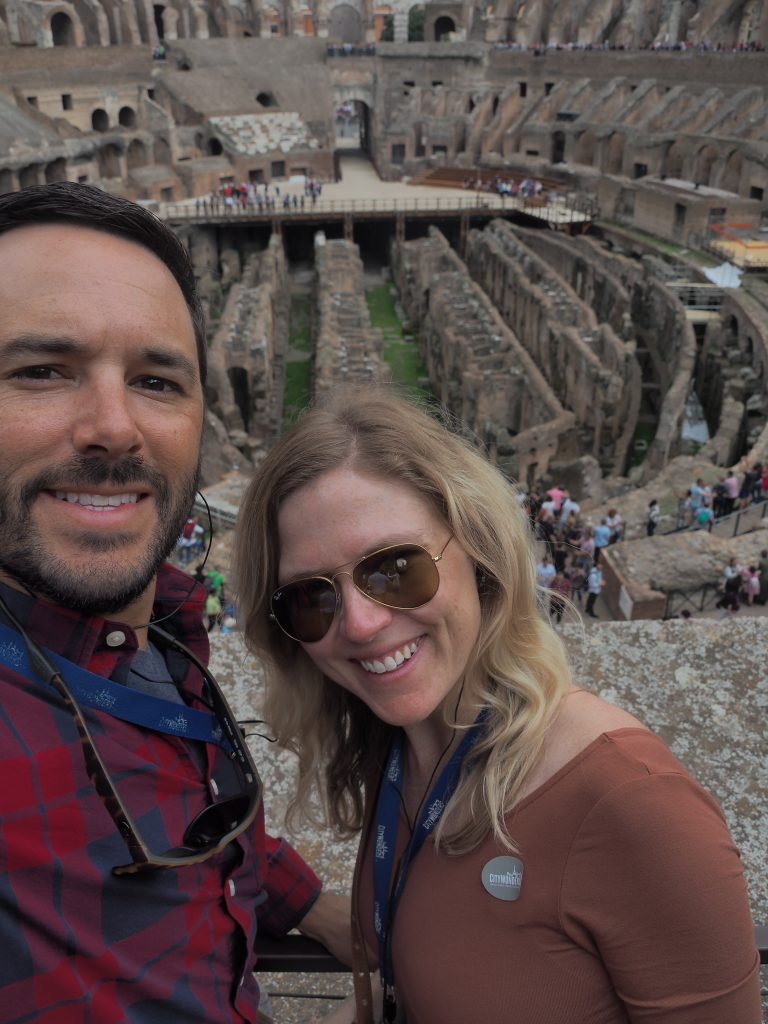 Emily from Emmy Lou Styles visits Rome