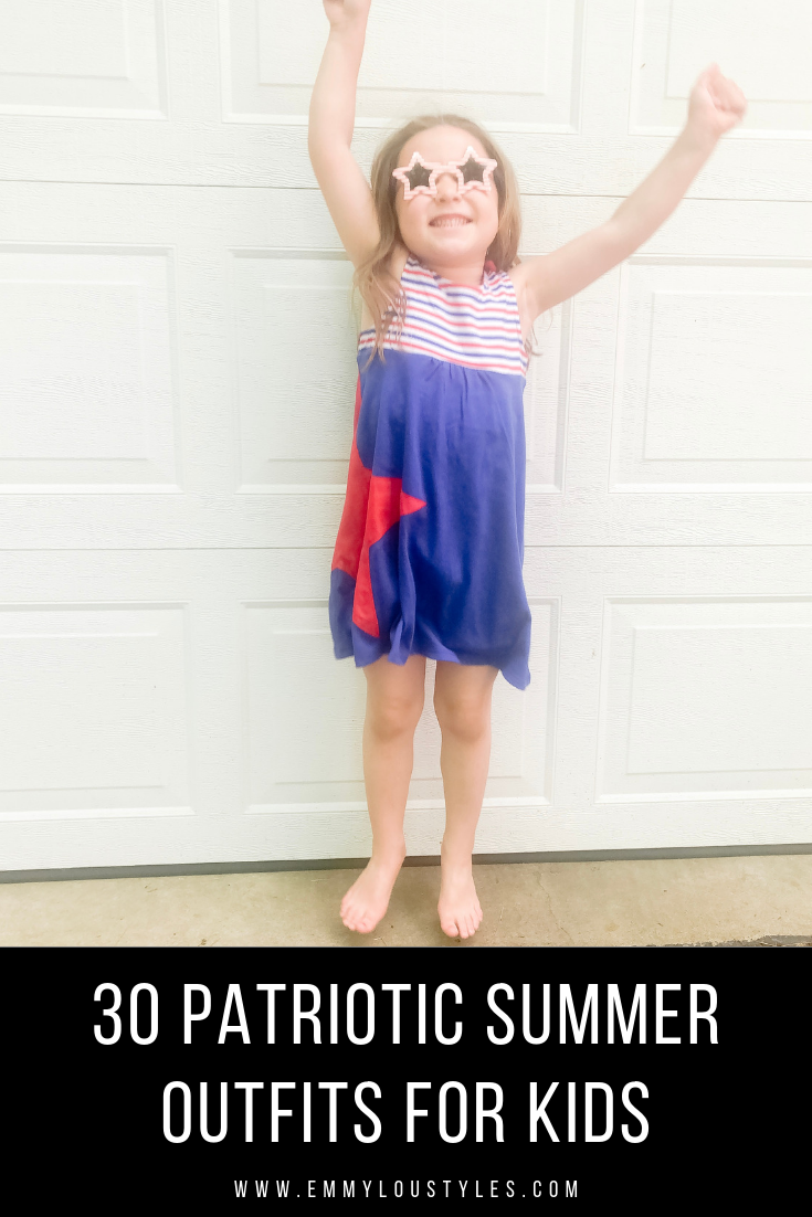 30 Patriotic Summer Outfits for Kids