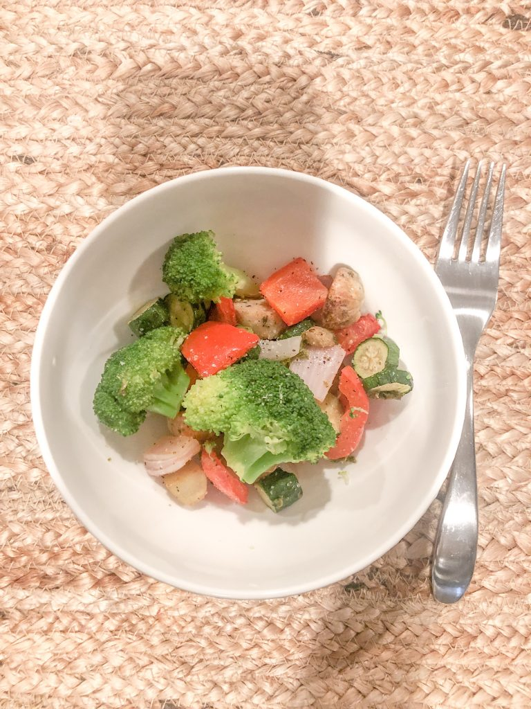 Chicken sausage weeknight meal super easy
