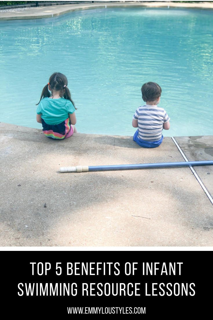 Top 5 Benefits of Infant Swimming Resource Lessons